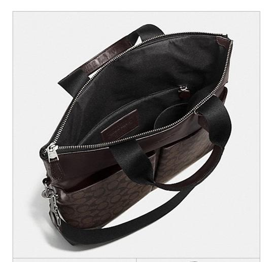 Coach New With Tags Tote in Charcoal / Black Image 3