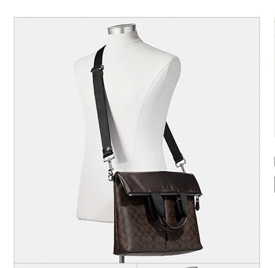 Coach New With Tags Tote in Charcoal / Black Image 5