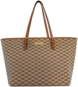 Michael Kors Tote in brown natural/acorn