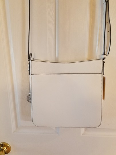 Michael Kors Optic White Messenger Bag Image 1