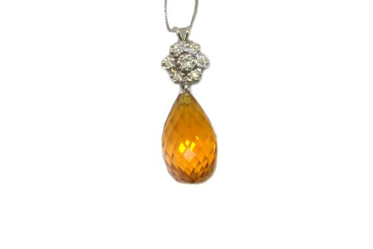 Other 14K Diamond Necklace For Women Image 2