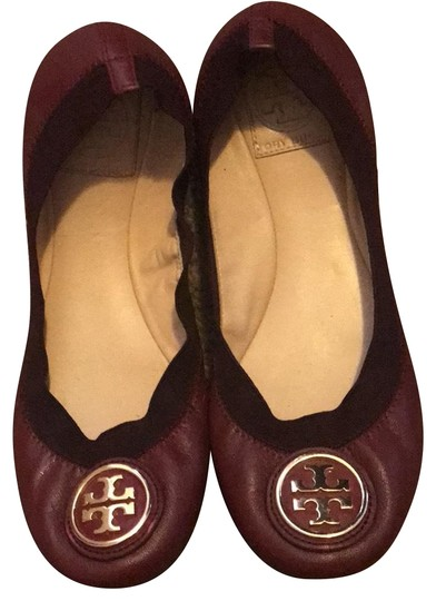 Preload https://img-static.tradesy.com/item/23815373/tory-burch-burgundy-flats-size-us-7-regular-m-b-0-1-540-540.jpg