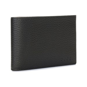 64d57cb92b45 Gucci Gucci Men's Black Calf Leather Bifold Wallet with Coin Pocket 292534