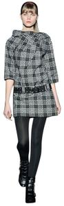 Marc by Marc Jacobs short dress Rare Black and White Plaid Logo Belted Marc by Marc Jacobs Collar Structured on Tradesy