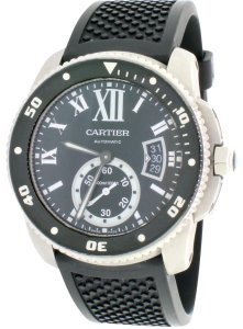 Cartier Cartier Calibre Diver Black Roman 42mm Automatic Watch W7100056