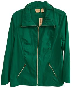 Chico's teal green Jacket