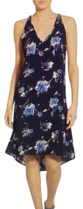 Leith short dress Navy High-low Coverup Midi on Tradesy