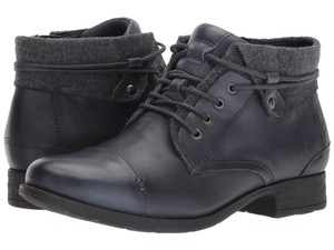 Earth Admiral Blue Lace up Boots
