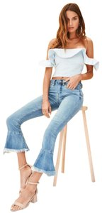 APIECE APART Top Bleached Denim