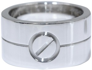 Cartier LOVE BAND Ring White Gold
