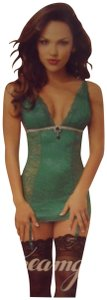 Dreamgirl Lace Jewel New With Tags Teddy Lingerie Dress