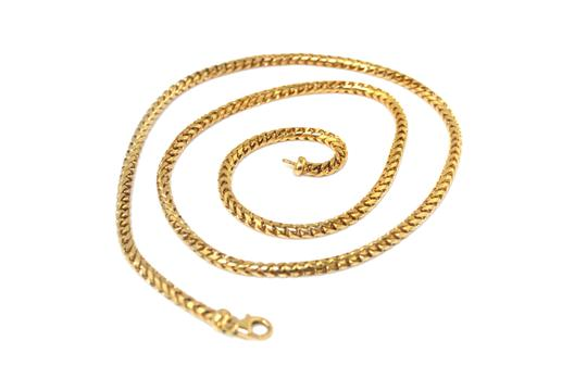Preload https://img-static.tradesy.com/item/23816526/yellow-gold-18k-solid-franco-chain-necklace-0-1-540-540.jpg