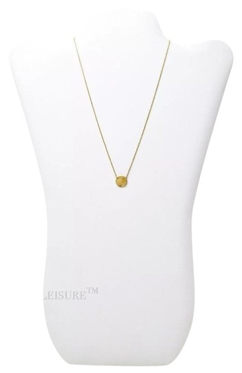 Preload https://img-static.tradesy.com/item/23816654/nordstrom-gold-delicate-circle-charm-brushed-necklace-0-1-540-540.jpg