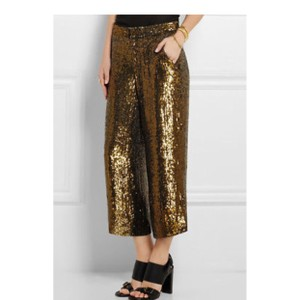 J.Crew Capri/Cropped Pants Gold Bronze