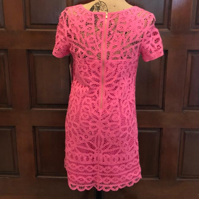 Lilly Pulitzer short dress Pink New With Tag Mariekate Battenburg Lace on Tradesy Image 2
