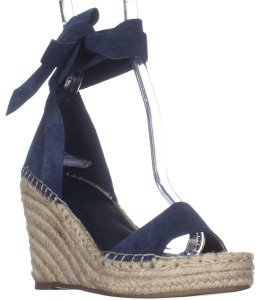 Marc Fisher Blue Wedges