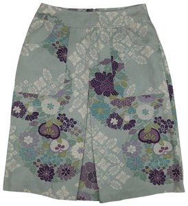 Anthropologie Mini Skirt Multi Color