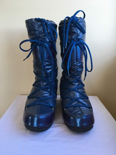 Tecnica Snow Moon Winter Down Warm Navy Blue Boots Image 1