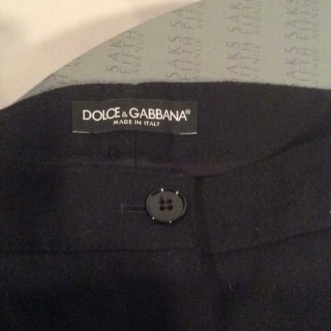 Dolce&Gabbana Black Wool Trousers Image 3