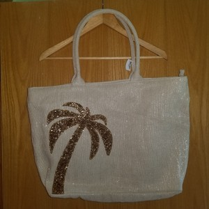 Bath and Body Works Tote in Beige