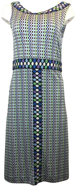 Preload https://img-static.tradesy.com/item/23817032/tory-burch-multicolor-oval-pattern-sleeveless-short-casual-dress-size-8-m-0-4-650-650.jpg