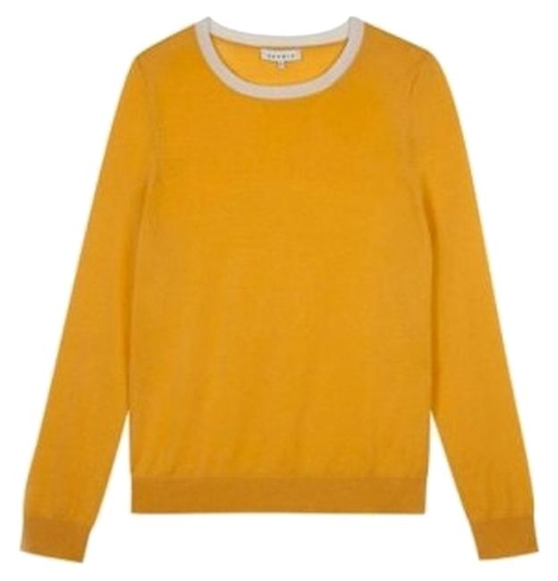 Preload https://item5.tradesy.com/images/sandro-yellow-new-mens-knitted-sweaterpullover-size-12-l-2381704-0-0.jpg?width=400&height=650