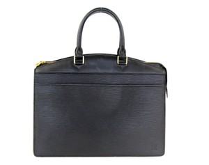 Louis Vuitton Riviera Tote Satchel in Black