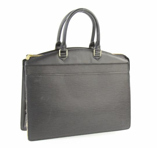 Louis Vuitton Riviera Tote Satchel in Black Image 1