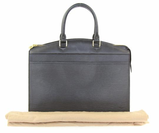 Louis Vuitton Riviera Tote Satchel in Black Image 11