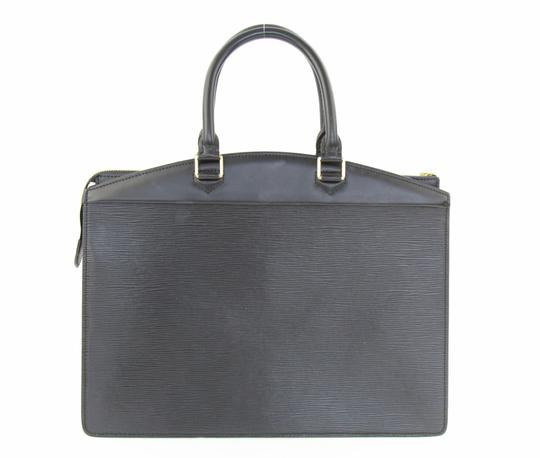 Louis Vuitton Riviera Tote Satchel in Black Image 2