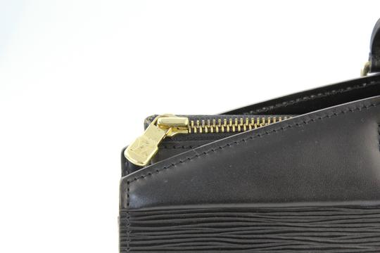 Louis Vuitton Riviera Tote Satchel in Black Image 4