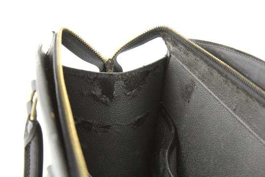 Louis Vuitton Riviera Tote Satchel in Black Image 9