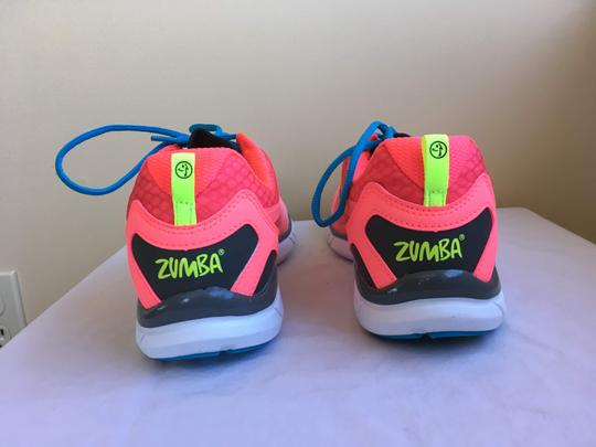 Zumba Fitness Dance New Neo Pink Athletic Image 1