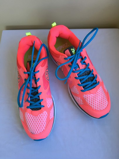 Zumba Fitness Dance New Neo Pink Athletic Image 2