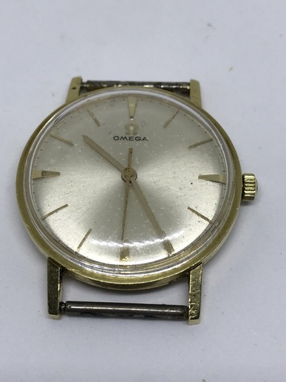 Omega BEAUTIFUL-VINTAGE-OMEGA-18K-SOLID-GOLD-MANUAL-WIND-AUTHENTIC-GENTS-WA Image 1