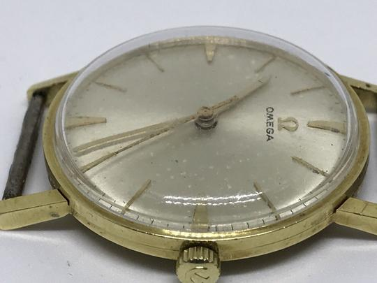 Omega BEAUTIFUL-VINTAGE-OMEGA-18K-SOLID-GOLD-MANUAL-WIND-AUTHENTIC-GENTS-WA Image 2