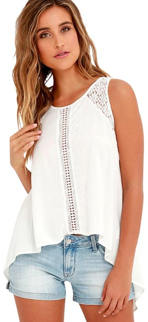 Preload https://img-static.tradesy.com/item/23817237/lulus-white-anything-is-possible-ivory-lace-blouse-size-4-s-0-1-650-650.jpg