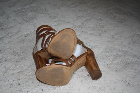 Dolce Vita Brown Leather Sandals Image 1