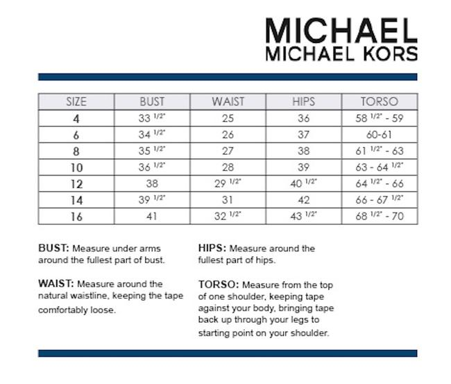 MICHAEL Michael Kors Rope Rugby Stripe One Shoulder One-piece Swimsuit Image 6
