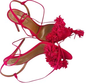 Aquazzura Fuscia Sandals