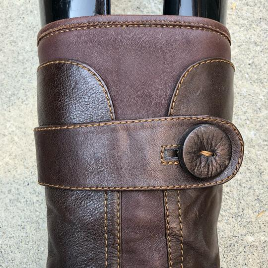 Brn Chocolate Brown Boots Image 1