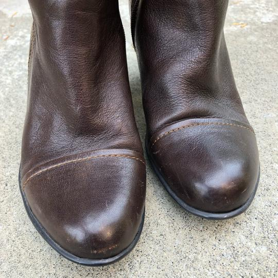Brn Chocolate Brown Boots Image 2