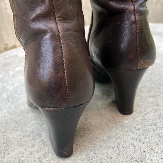 Brn Chocolate Brown Boots Image 3