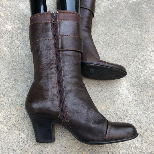 Brn Chocolate Brown Boots Image 4