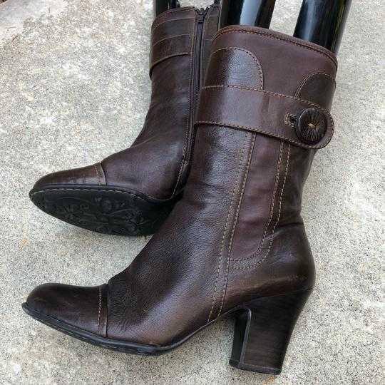 Brn Chocolate Brown Boots Image 5