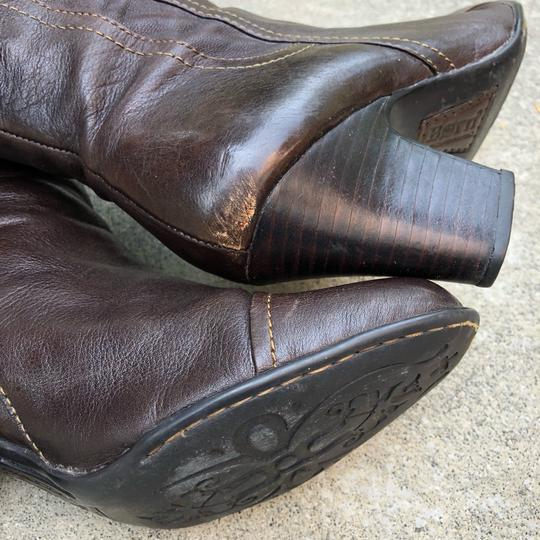 Brn Chocolate Brown Boots Image 6