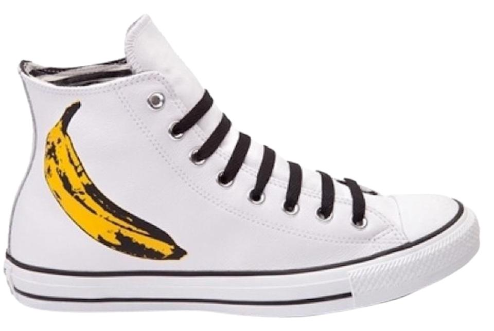 8651f9d35390 Converse White Limited Edition Chuck Taylor All Star Andy Warhol ...