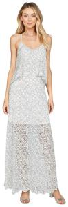 Ivory/Black Maxi Dress by Willow & Clay Lace