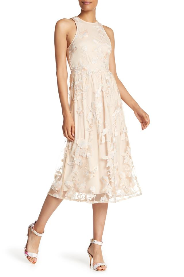 Alexia Admor Blush Multi Women S Embroidered Mid Fit