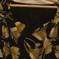 Gucci short dress black with yellow leaves on Tradesy Image 1